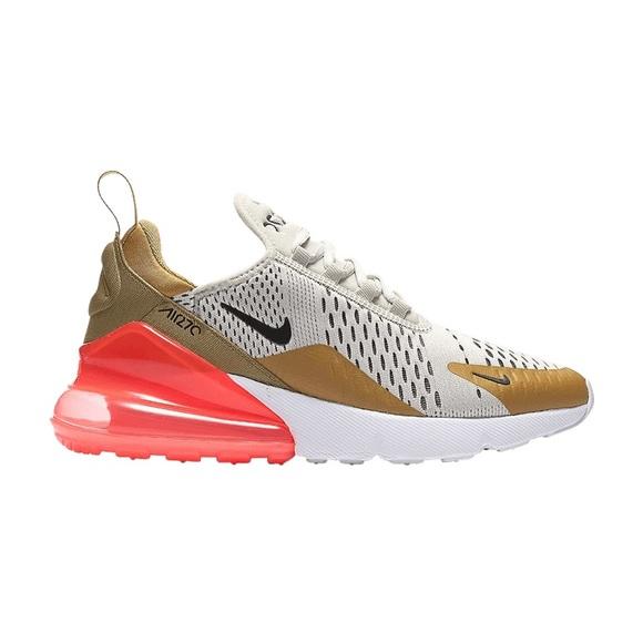 """Women Nike Air Max 270 """"Flight Gold"""" AH6789 700"""